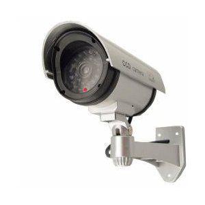 OUTDOOR FAKE / DUMMY SECURITY CAMERA w/ Blinking Light