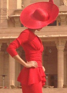 Beulah and Philip Treacy. #passion4hats