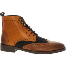 Tan Brown Leather Work Boots | Tk maxx
