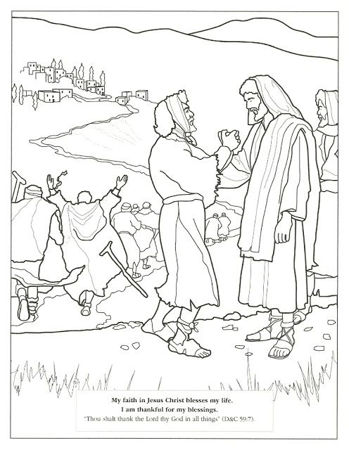 Happy Clean Living Primary 2 Lesson 24 Lds Coloring Pages