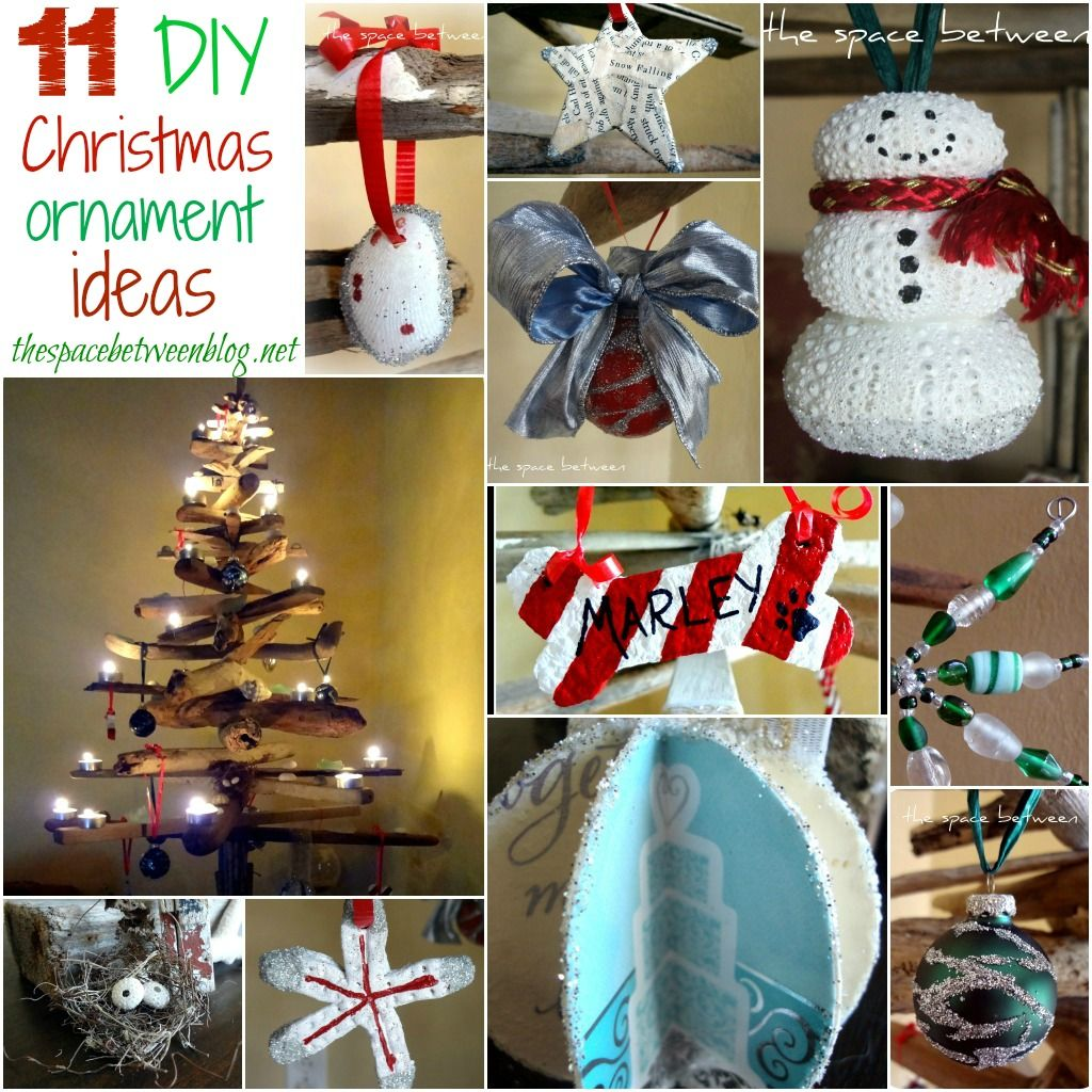 Love These DIY Ornament Ideas From Thespacebetweenblog.net