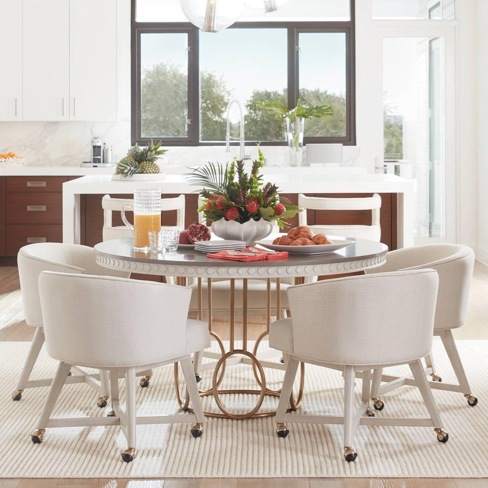 Coastal Living Oasis 5 Piece Venice Beach Table Set By Stanley Furniture