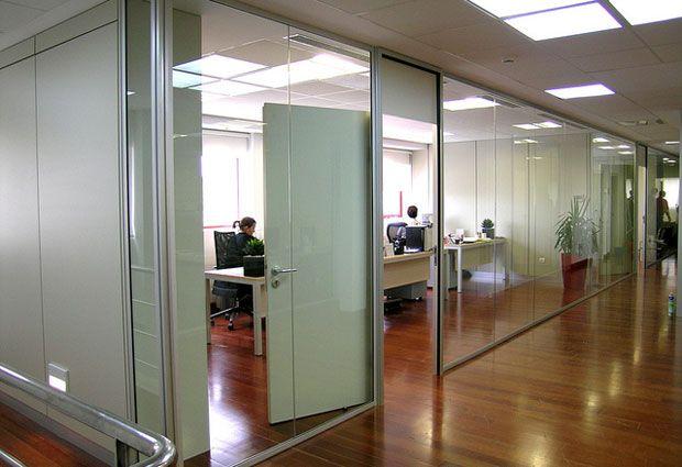 Mamparas de oficina ideas decoracion pinterest for Caja murcia valencia oficinas