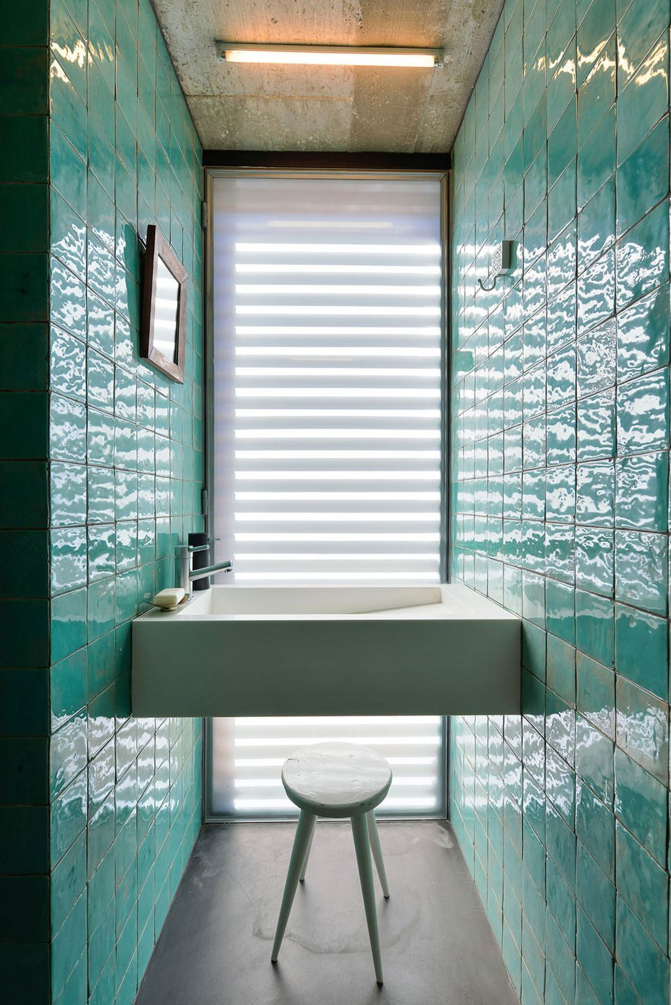 Seafoam green bathroom, seafoam green and white bathroom ...