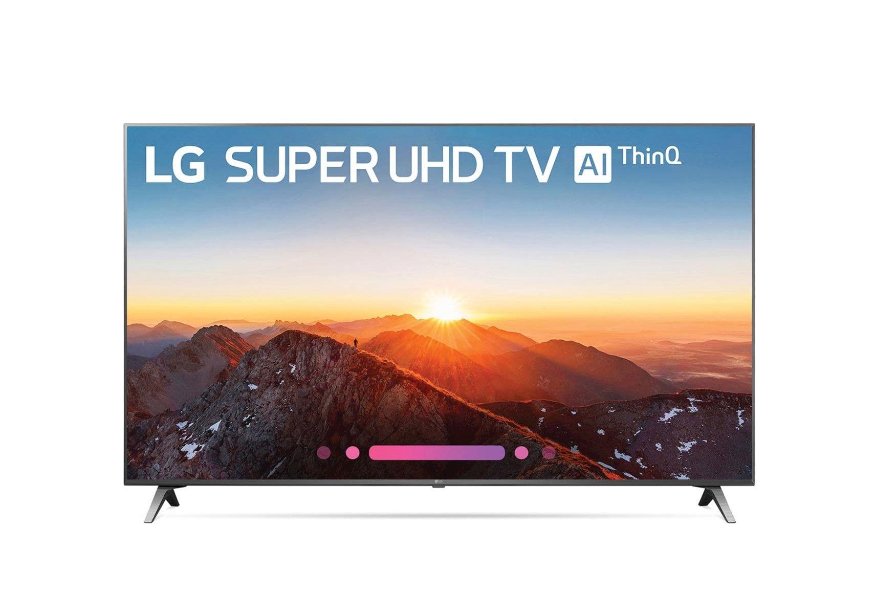 Lacks Lg 55 4k Hdr Smart Led Super Uhd Tv With Ai Thinq Man