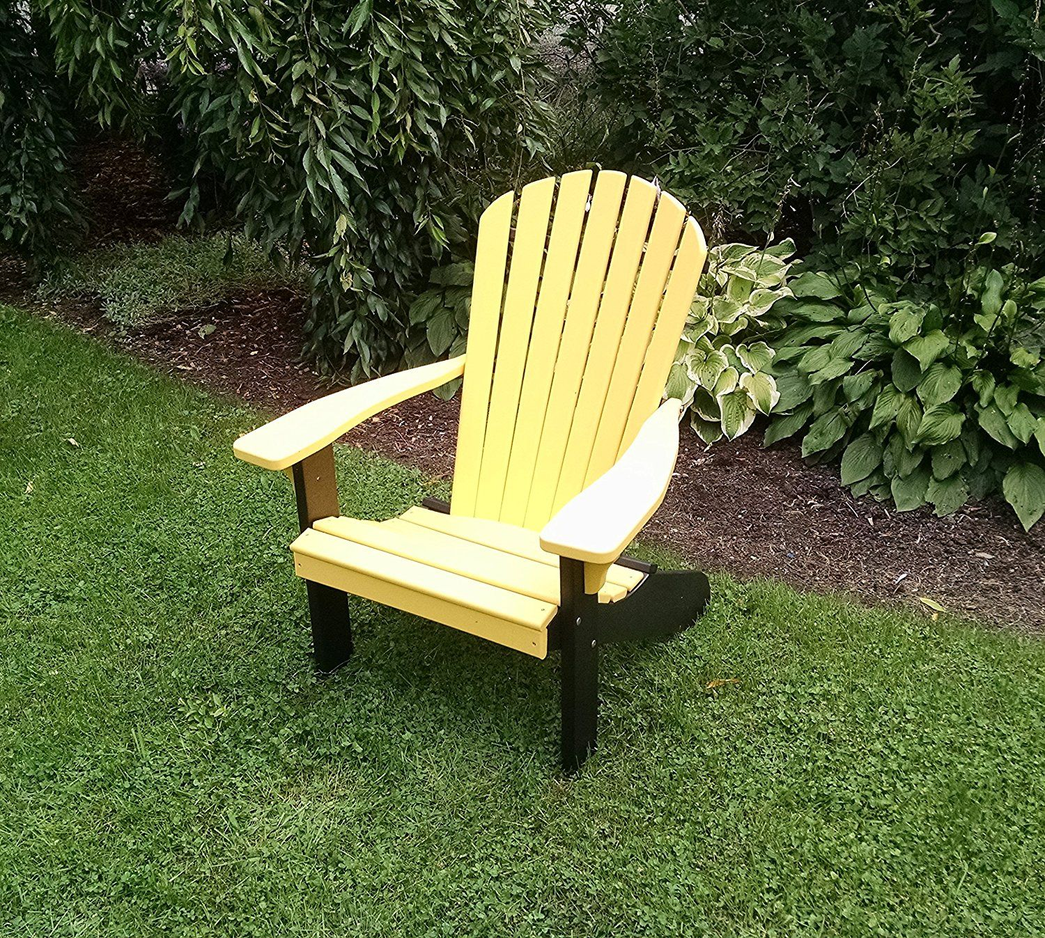 Fanback Adirondack Chair, Maintenance Free
