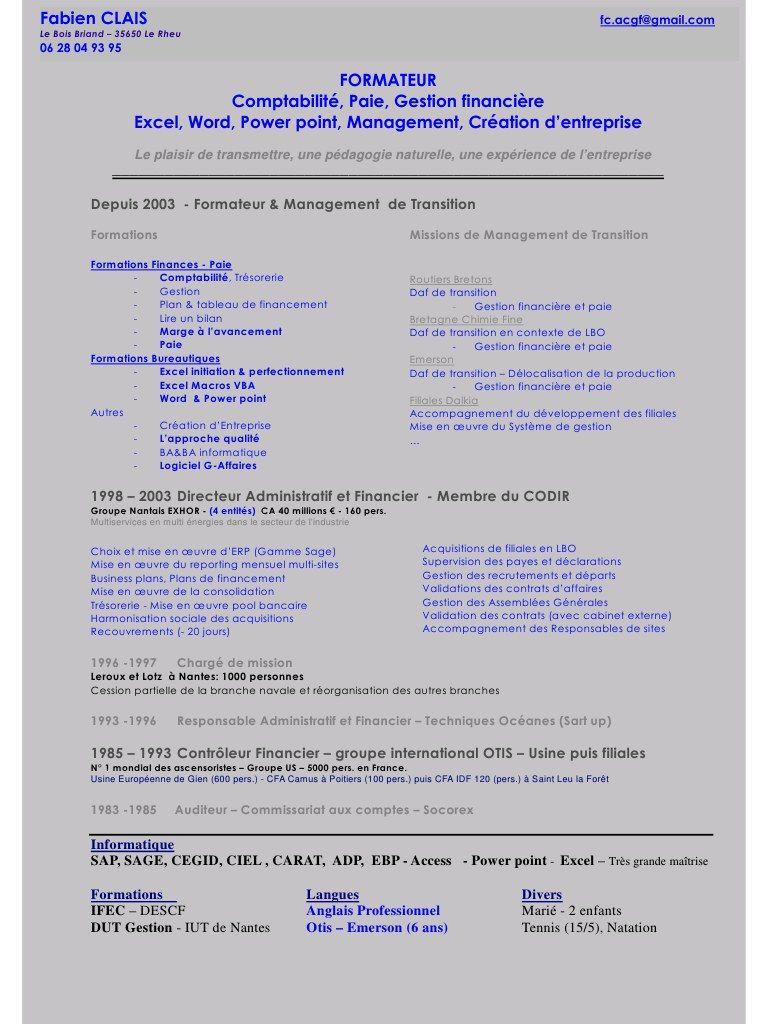 cv formateur pdf par jeanne
