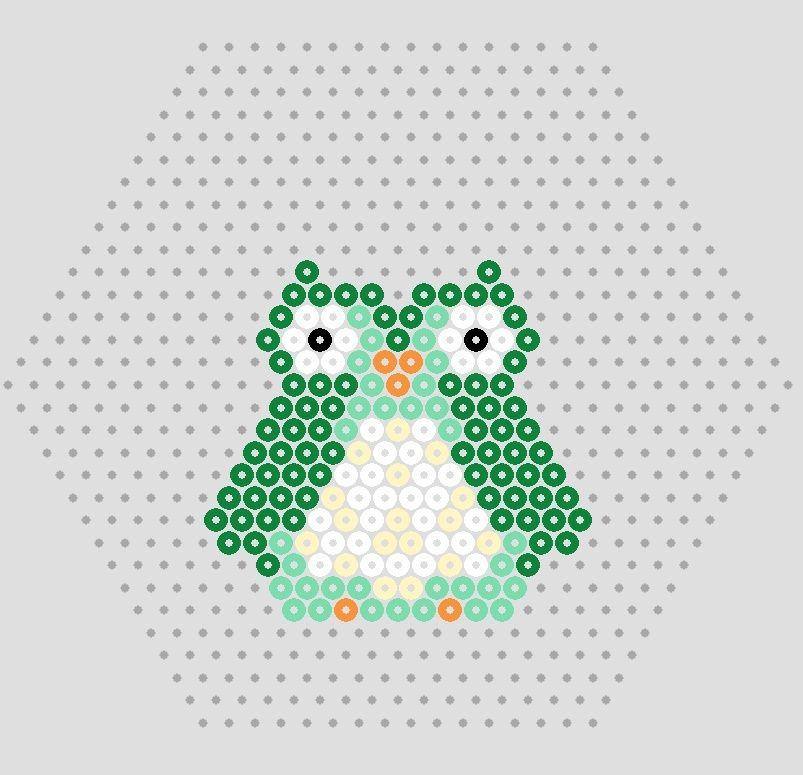 Owl hama perler beads pattern hama Pinterest Bead patterns Classy Owl Perler Bead Patterns