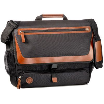 """OWL Recycled :: 17"""" LAPTOP MESSENGER #ecofriendly"""