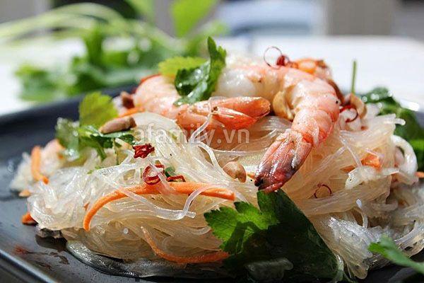 Chua Cay Mon Miến Trộn Kiểu Thai Co Hinh ảnh Thức ăn Kiểu Thai Cay
