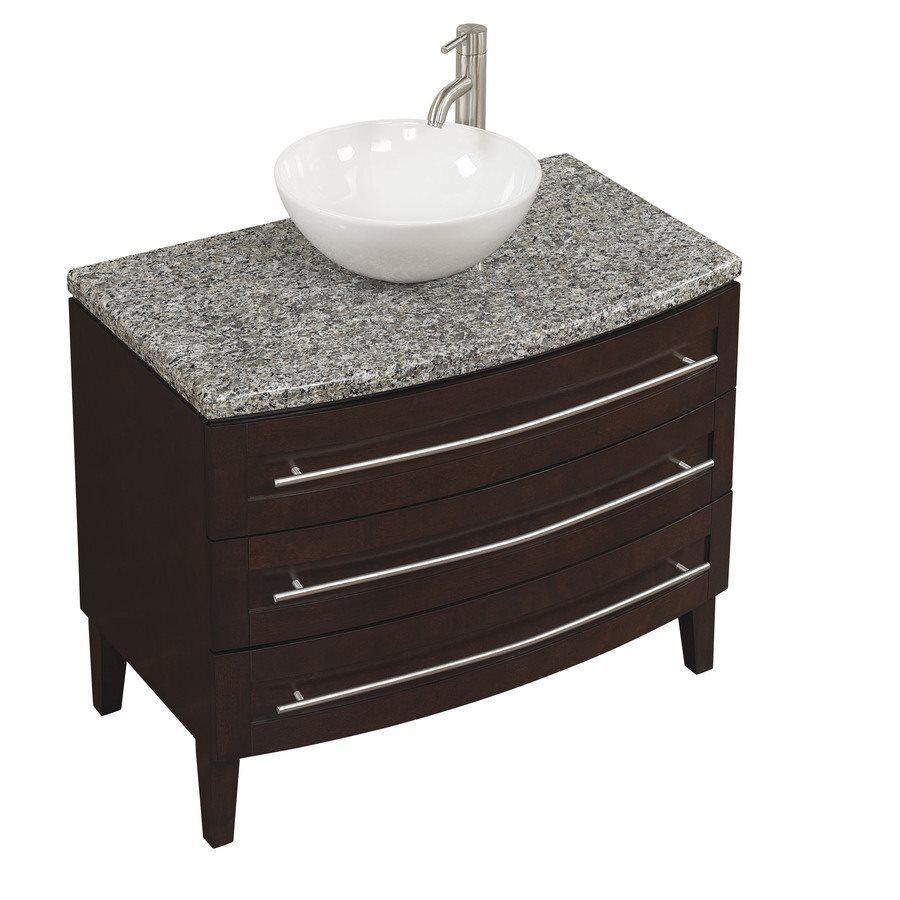 bathroom sink marble granite inch top vanity with white