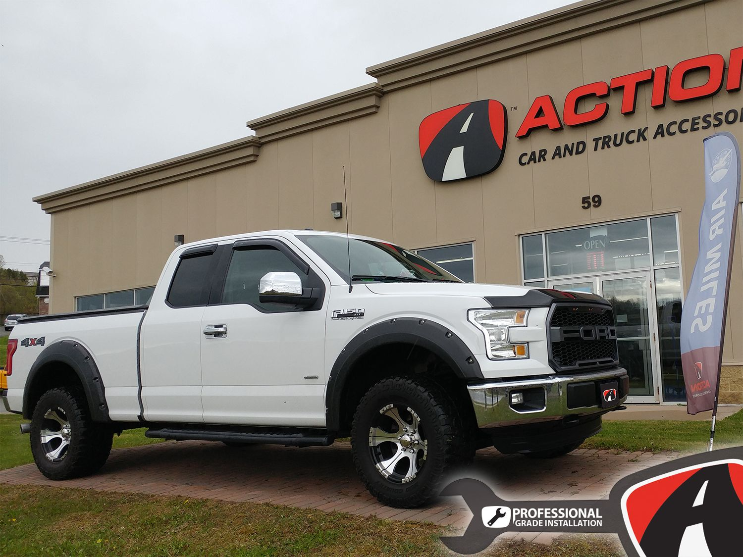 2015 Ford F150 Paramount Raptor Style Grille Avs Aeroskin And