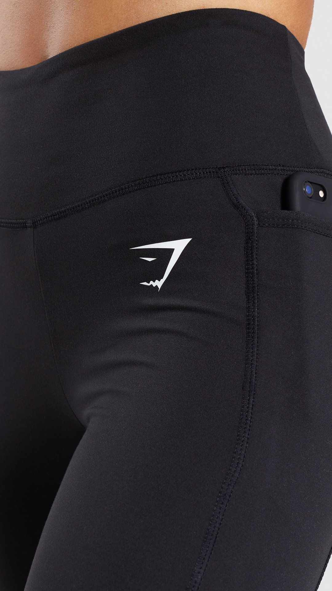 368e5b883007a The Dreamy Black Leggings 2.0, with high-waisted fit, soft fabric blend and  concealed side pockets on waistband, perfect for your workout essentials!