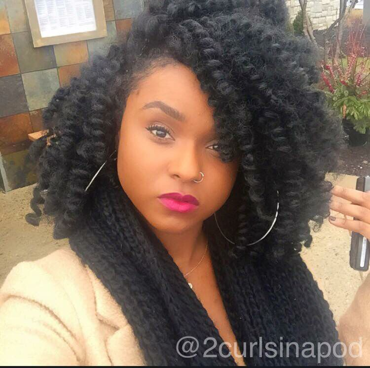 Gorgeous Crochet braids so beautiful #imlovingit #imdoingthis