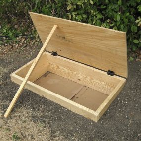 Bokashi laatikko puutarhaan