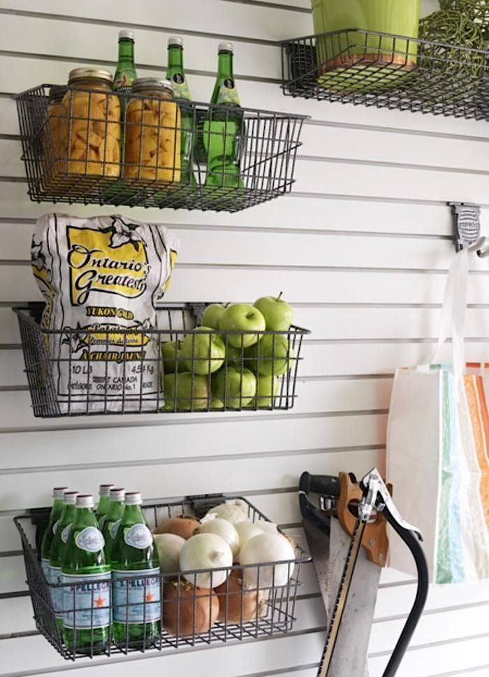 21 Farmhouse Decorating Ideas /// Page 4 | Pantry storage, Wire ...