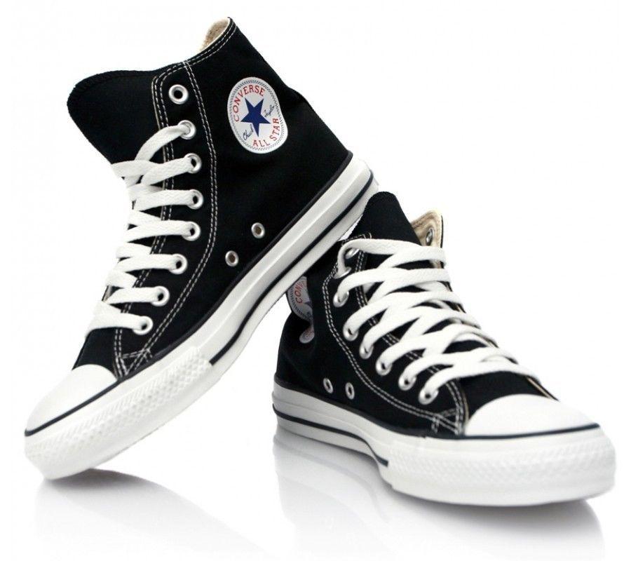 Converse chuck taylor black white high top canvas new in box sizes ... 305e272e0