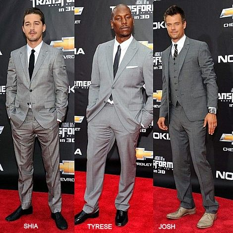 TRANSFOMERS LEADING MEN ROCK GREY TO 'DARK SIDE OF THE MOON' PREMIERE | Quick's Catch Up