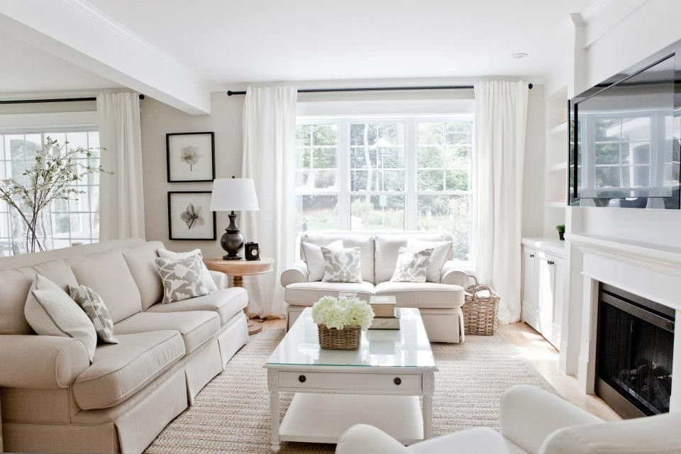Attractive Room · Inspired Benjamin Moore Edgecomb Gray Method Montreal Contemporary Living  Room Remodeling Ideas ...