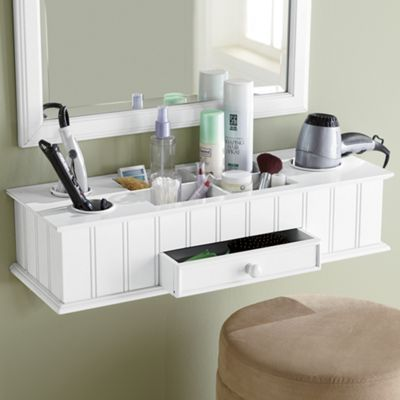 Wall Makeup Organizer. I Need This For My Room!