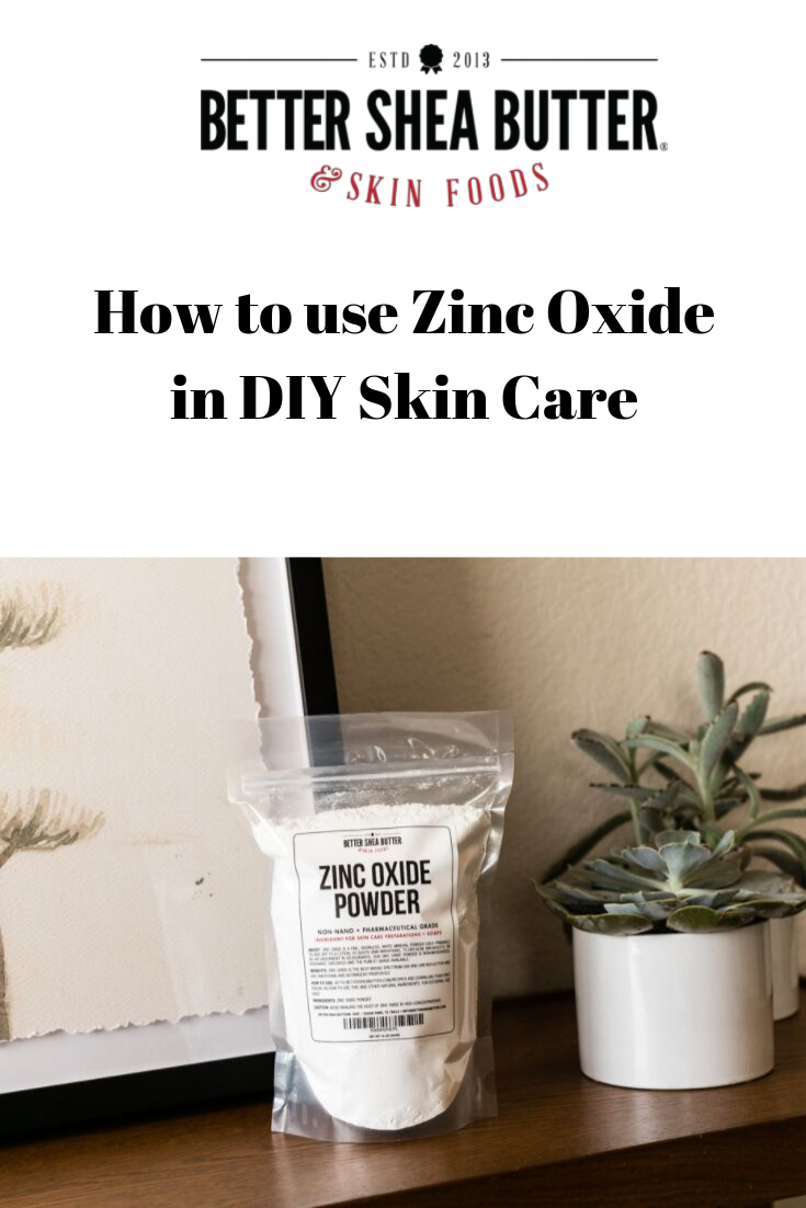 How to Use Zinc Oxide Powder for Skin Care Diy skin care
