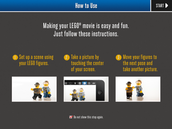 LEGO Movie Maker is a free iPad app for creating stop-motion movies ...