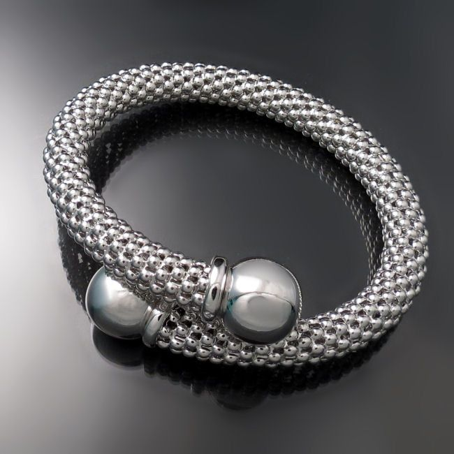 c537fddaf4f30c Chunky Silver Bypass Bracelet from Zoran Designs Jewelry | Sterling ...