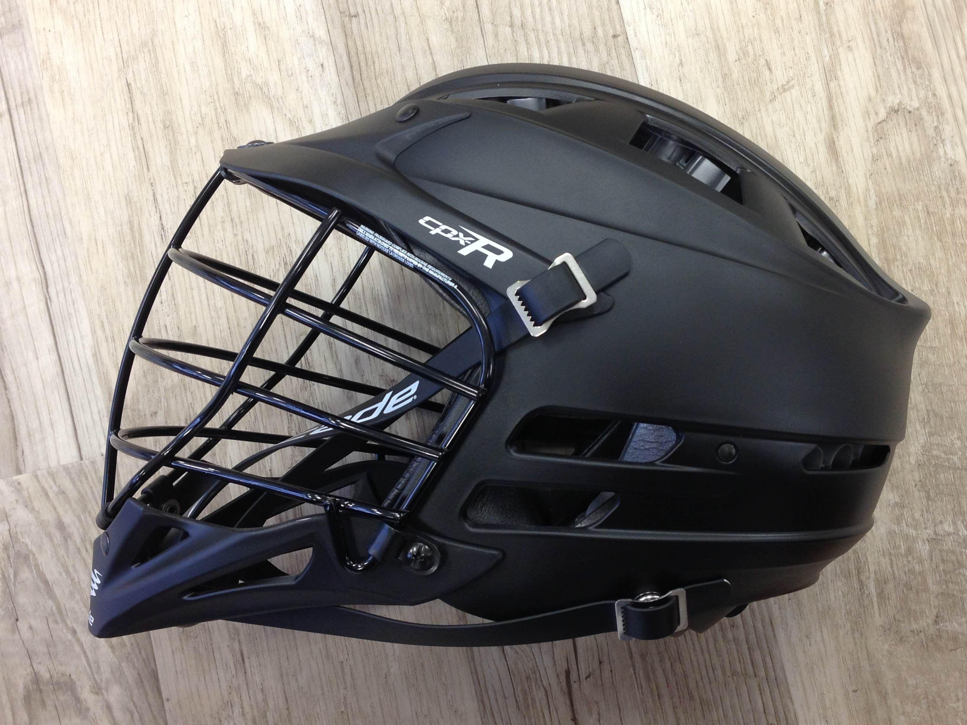 Cascade CPXR Matte Black Lacrosse Helmet is Now Available ...