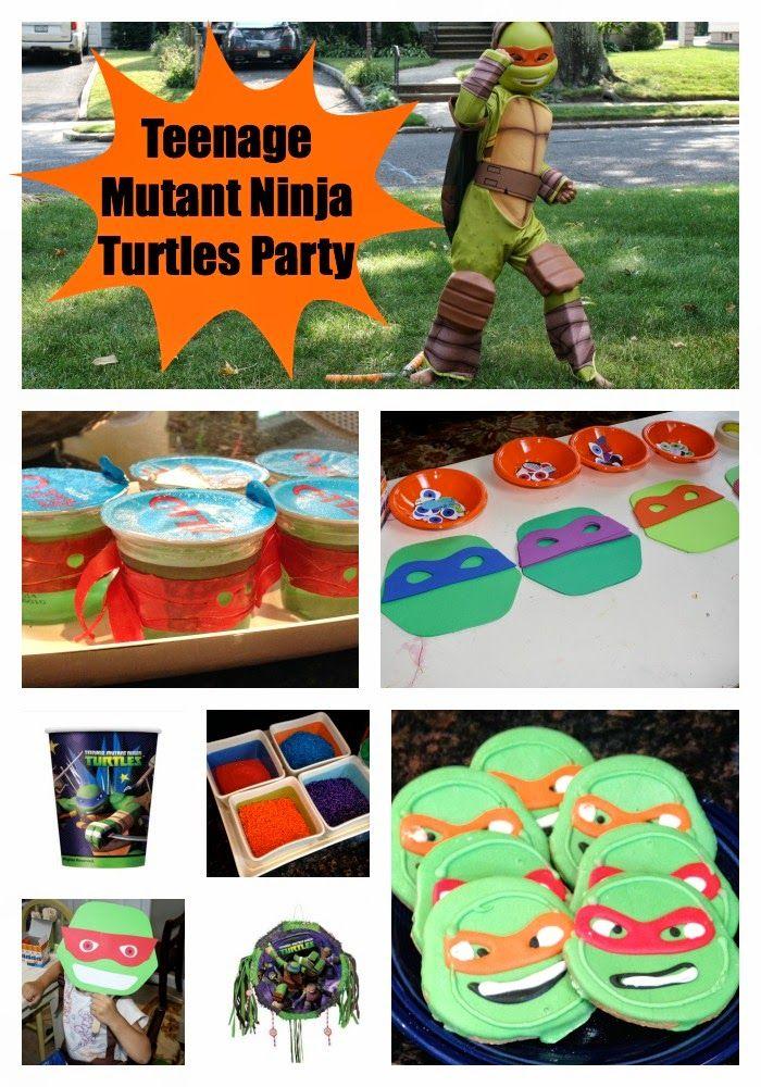The Ultimate Teenage Mutant Ninja Turtles Party The Chirping Moms Teenage Mutant Ninja Turtles Party Mutant Ninja Turtles Party Ninja Turtle Party