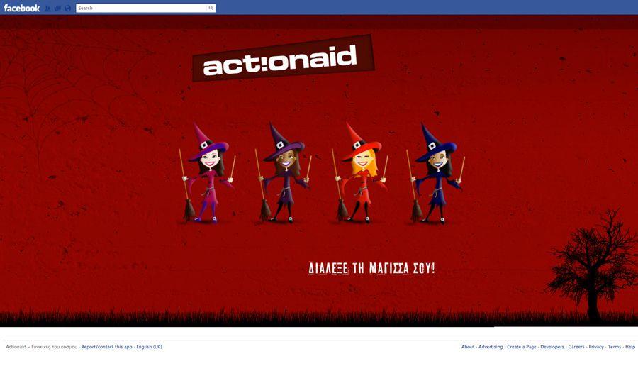 Facebook Applications // ActionAid // Γυναίκες του κόσμου
