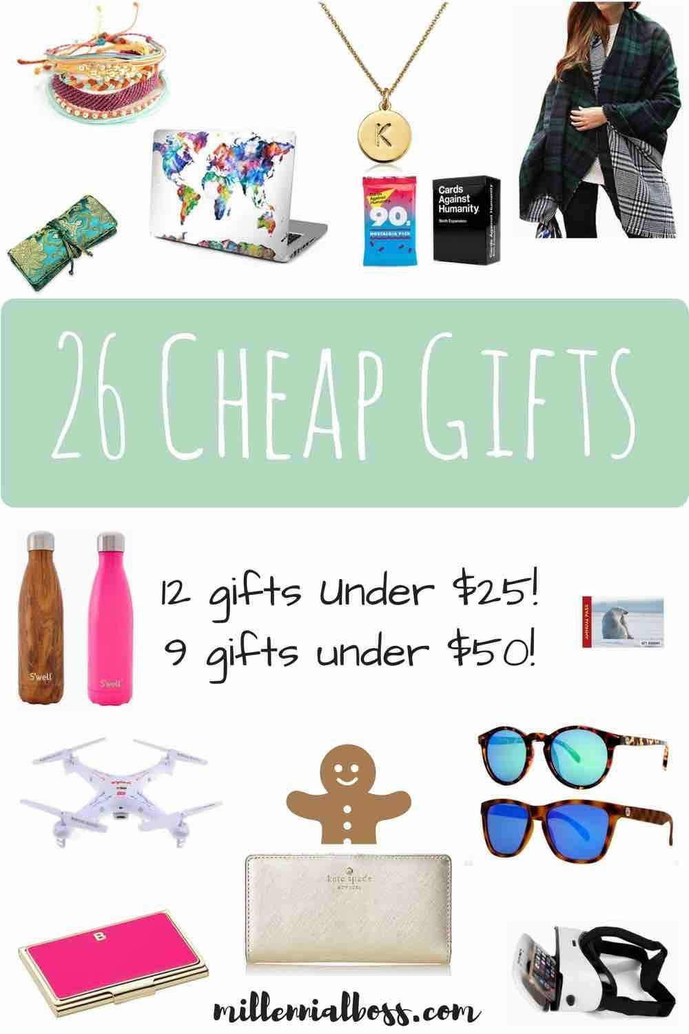 26 Awesome And Cheap Gifts For This Year Cheap Christmas Gifts Cheap Gifts Diy Gifts For Him