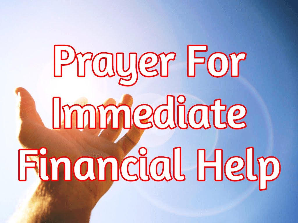 Prayer For Immediate Financial Help - Here's What To Do - YouTube