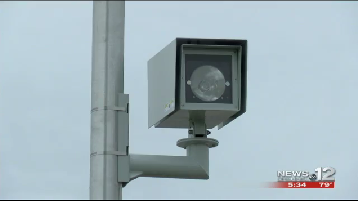 Red Light Camera Equipment Is Now Installed At All Five Greenville Locations Designated For Them As Part Of The City S New Pro Red Light Camera Light Light Red