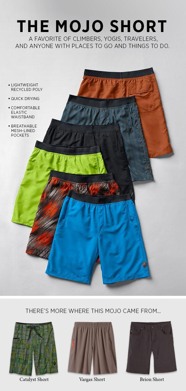 Our Mojo Short will accompany any adventure that strikes your fancy. Find your Mojo's http://bit.ly/mojoshort #baby
