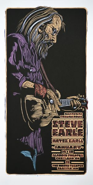 GigPosters.com - Steve Earle - Hayes Carll