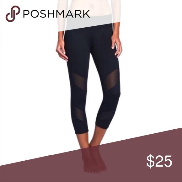 4e33ae1ec Mesh Yoga Capri leggings Purchased from another posher. Not from brand listed  lululemon athletica Pants Leggings