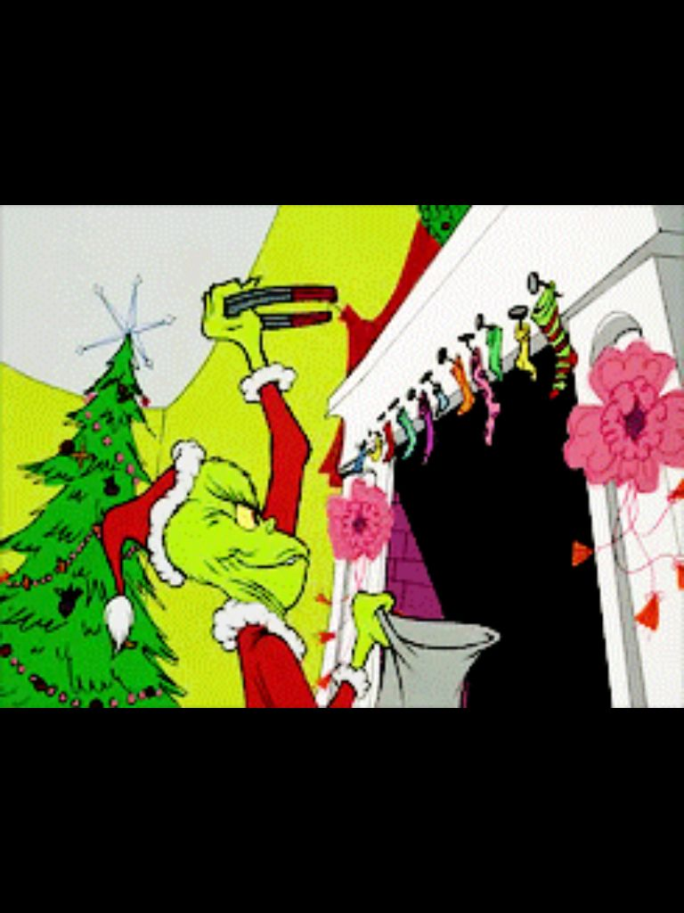 Watching the grinch