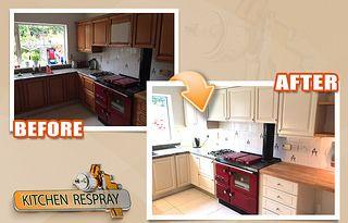 Kitchen Respray Avoca Park Blackrock Kitchen Respray Kitchen Kitchen Cabinets