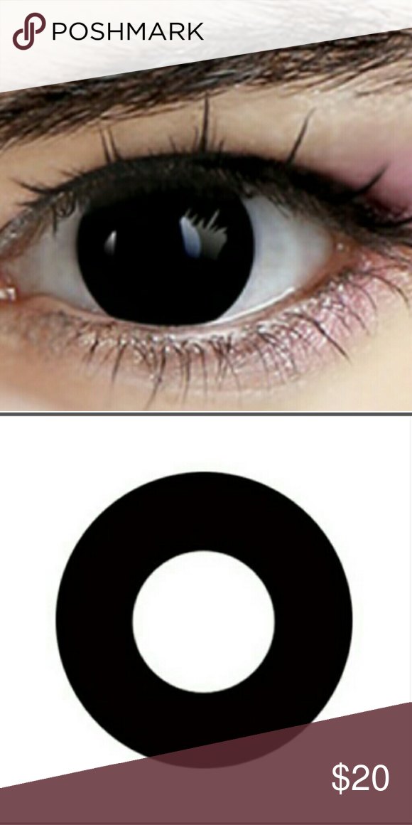 b033985c8a5 Cosplay Demon Black Contacts Black demon eyes contact lenses. Non  Prescription. No prescription nessesary