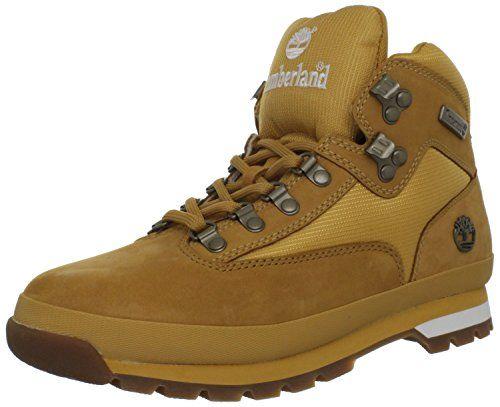 Timberland Mens 95100 Euro Hiker Boot Wheat 105 W US