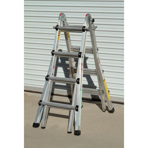 17 Ft Type Ia Multi Task Ladder Ladder Folding Ladder Multi Tasking