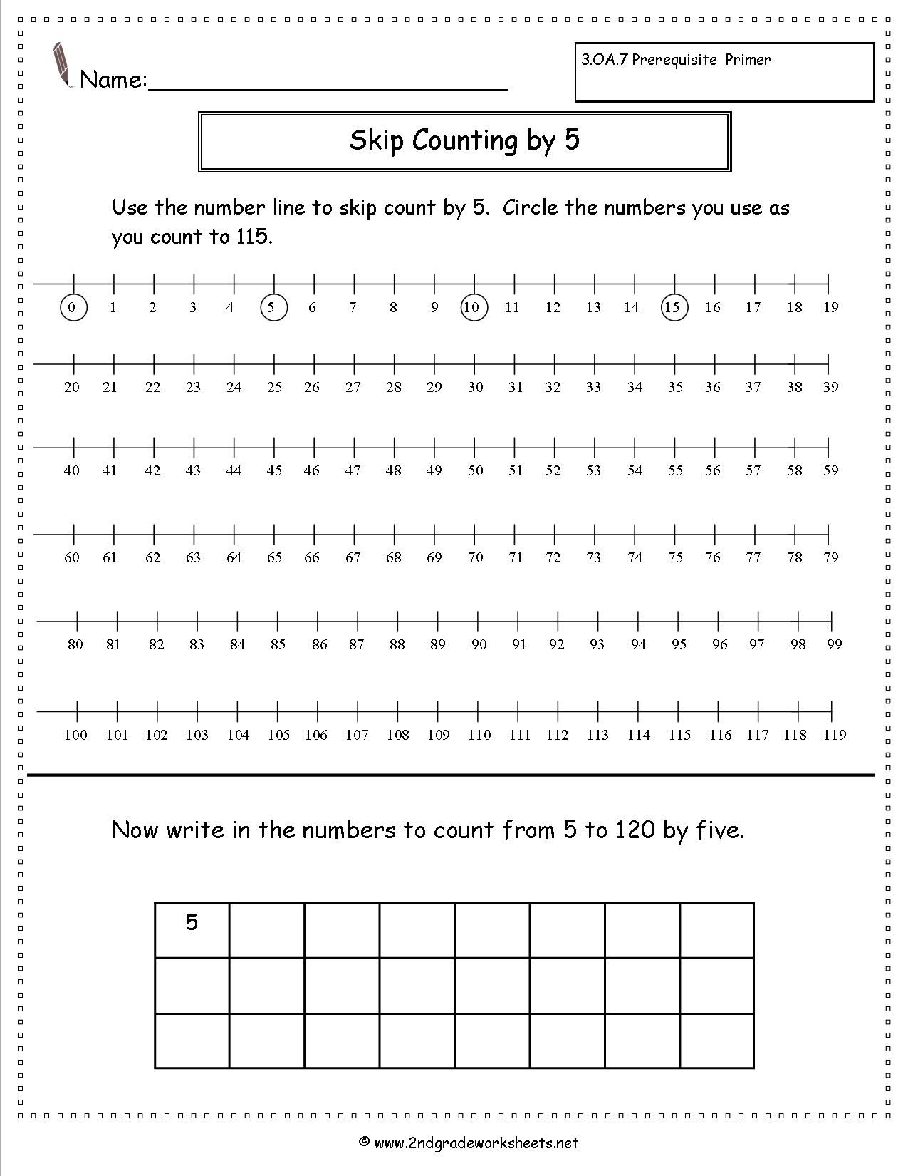 Worksheets Free Skip Counting Worksheets skip counting by 5 worksheet homework pinterest worksheet