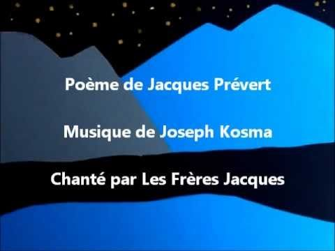 Chanson Pour Les Enfants L Hiver Poesie Illustree De Jacques Prevert Chanson Comptine Hiver Enfants Francais