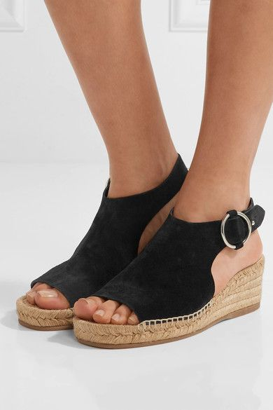Black Rag Bone Calla Wedge Sandals