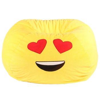 Acessentials Emoji Bean Bag Chair Reviews Furniture Macy S In 2020 Emoji Bean Bag Kids Bean Bags Bean Bag Chair