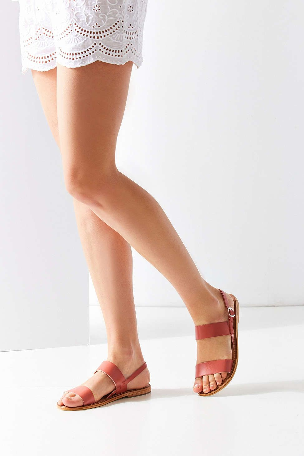 Penny Leather Slingback Sandal