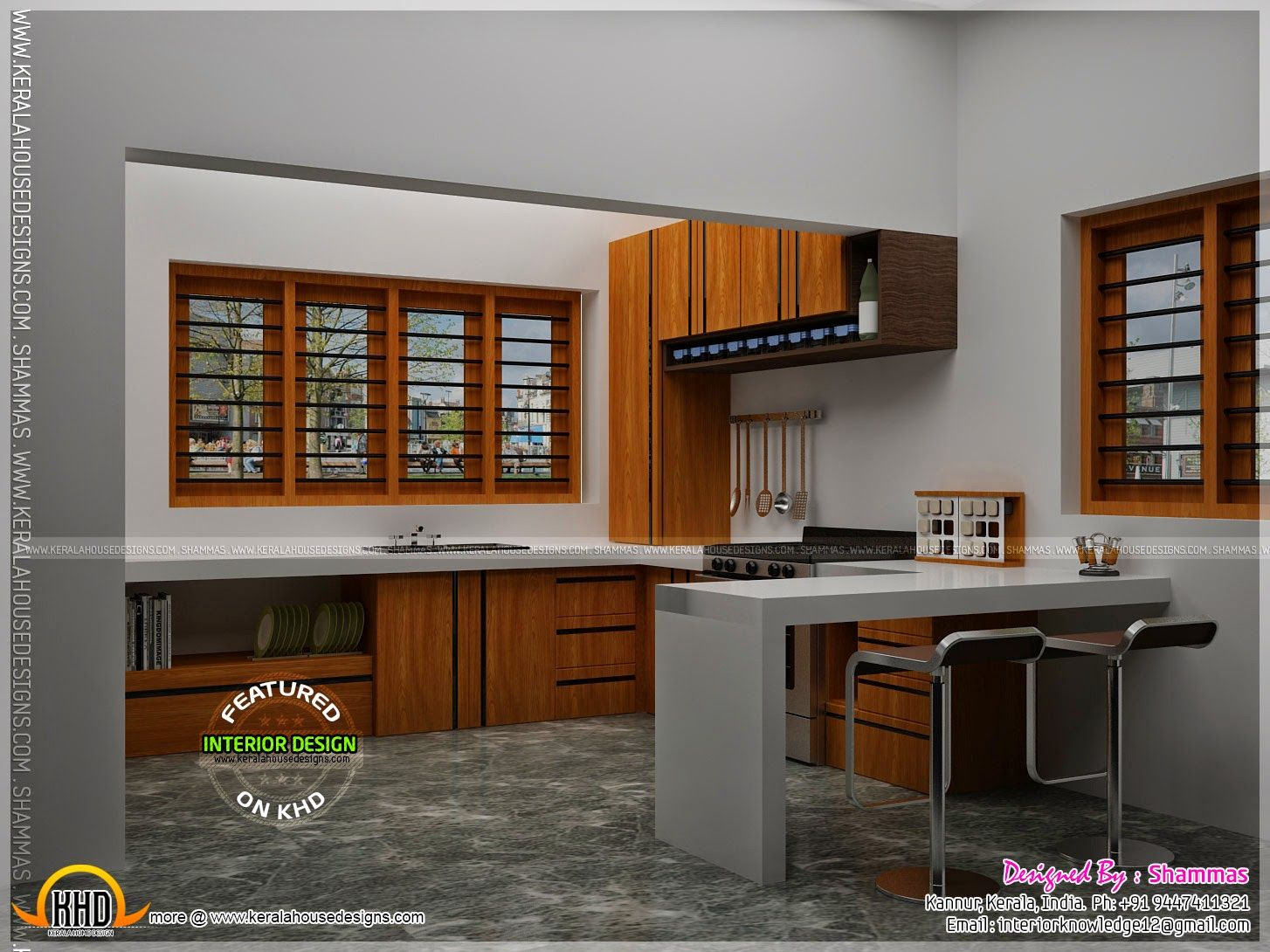 Traditional Kerala Simple Kitchen Design Wowhomy