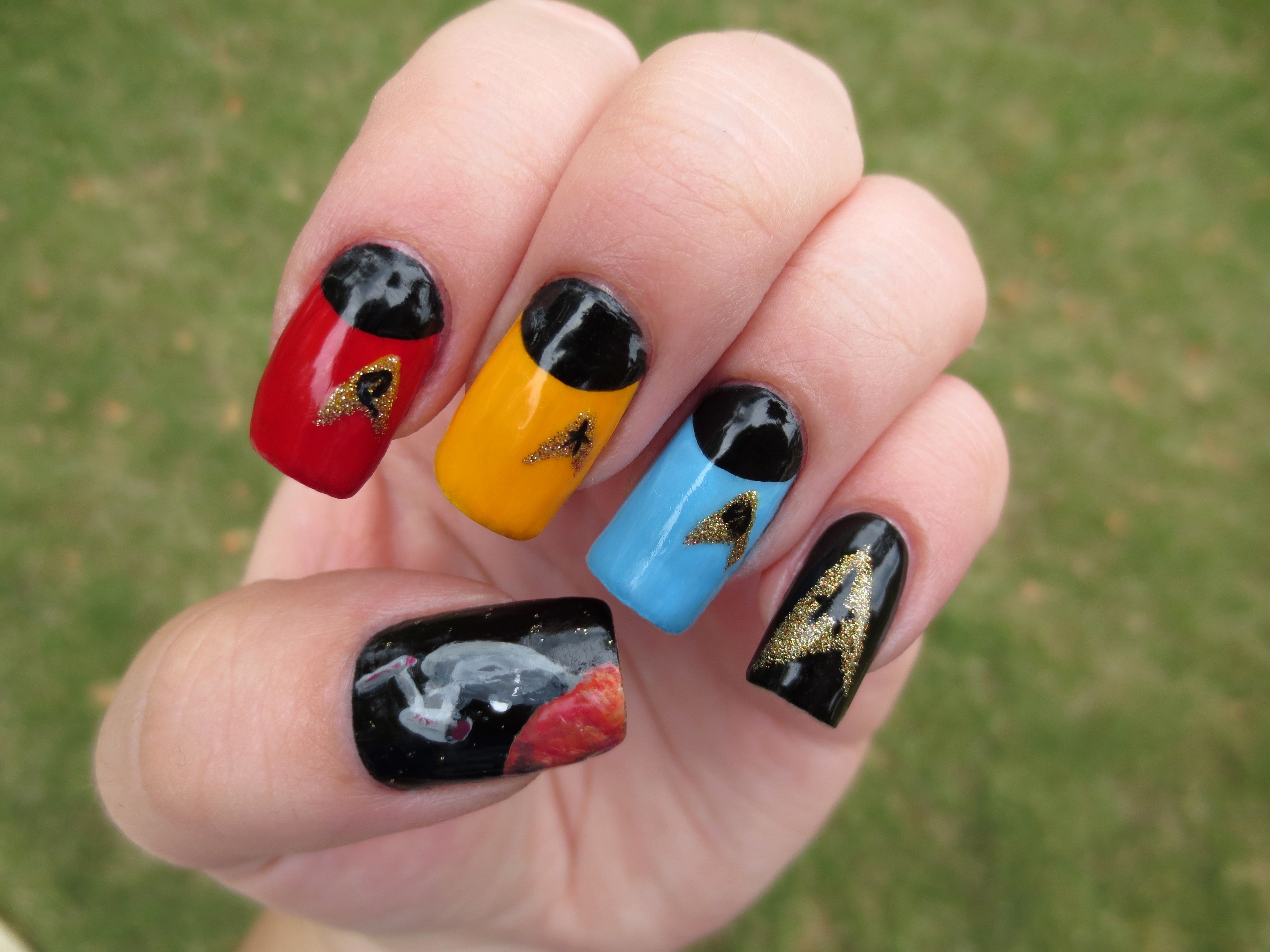 Star Trek nails for the new movie!