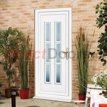 Nice Image Of Exterior Lyon Six Upvc Door