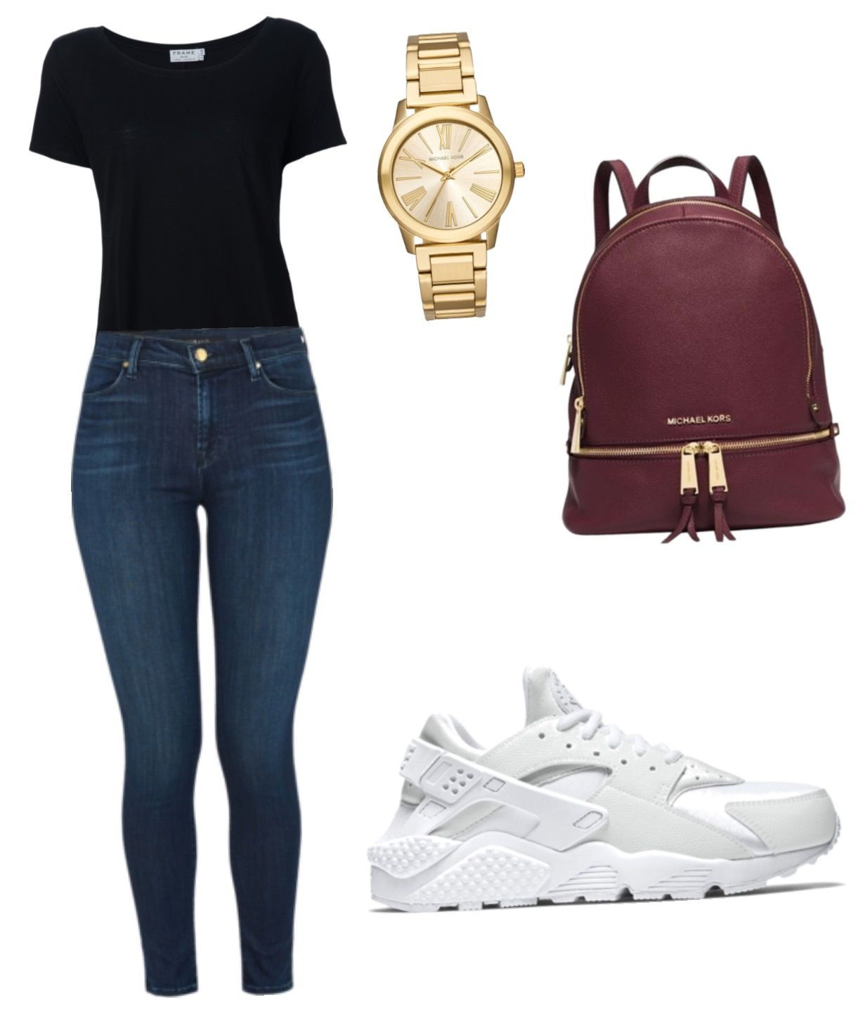 Pin by Hckkv on Huaraches outfit | Cute nike outfits ...